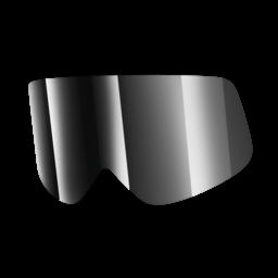 Shark Lens Mirrored Irridium Chrome