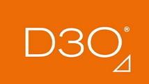 D3O D3O Knieprotectie CE met klittenband