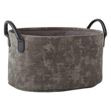 AQUANOVA Storage basket OLAV Silver Gray-95