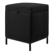 AQUANOVA SPARK hocker / ottoman Black-09