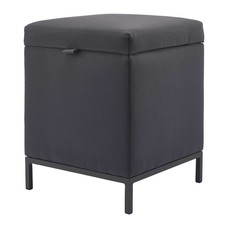 AQUANOVA SPARK hocker / ottoman Dark Gray-98