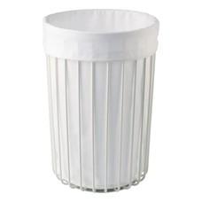 AQUANOVA Laundry basket RONDO White-43