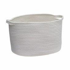 AQUANOVA Storage basket RENA Ivory-10 (Medium)