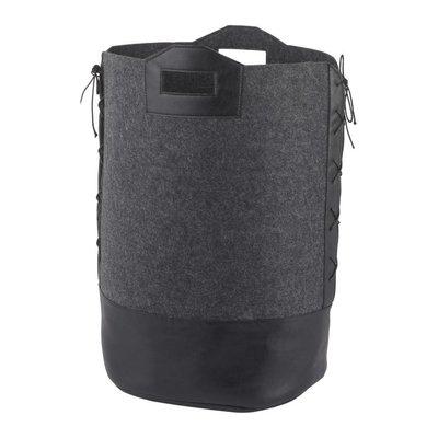 AQUANOVA Laundry basket DORAN Dark Gray-98, dark gray (DORLAL-98)