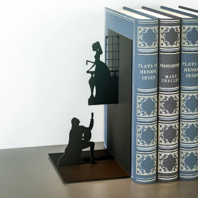 Boekensteun Romeo en Juliet