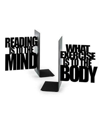 Boekensteun Reading is to the Mind