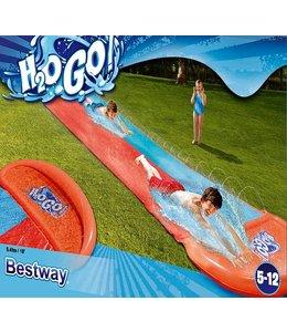 H2O Go Dubbele glijbaan 5.49 meter (vanaf 5 jr.)