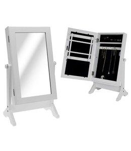 Sieradenkast met spiegel
