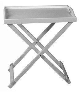 Butler tray  (dienblad met voet)