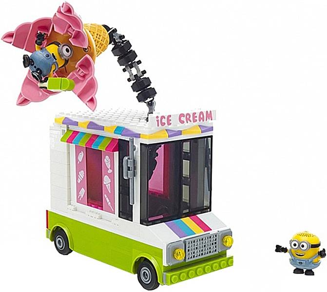Despicable Me Ice Cream Truck