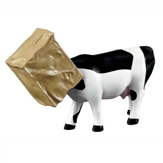 Cow Parade Cow Hide (medium)