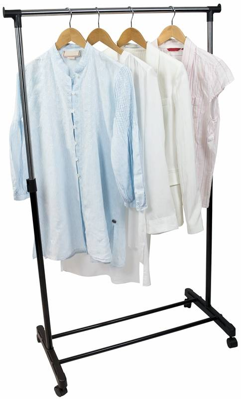 Mobiel kledingrek verstelbaar