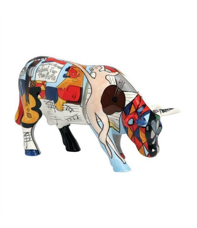 Cow Parade Picowso´s School for the Arts (medium ceramic)