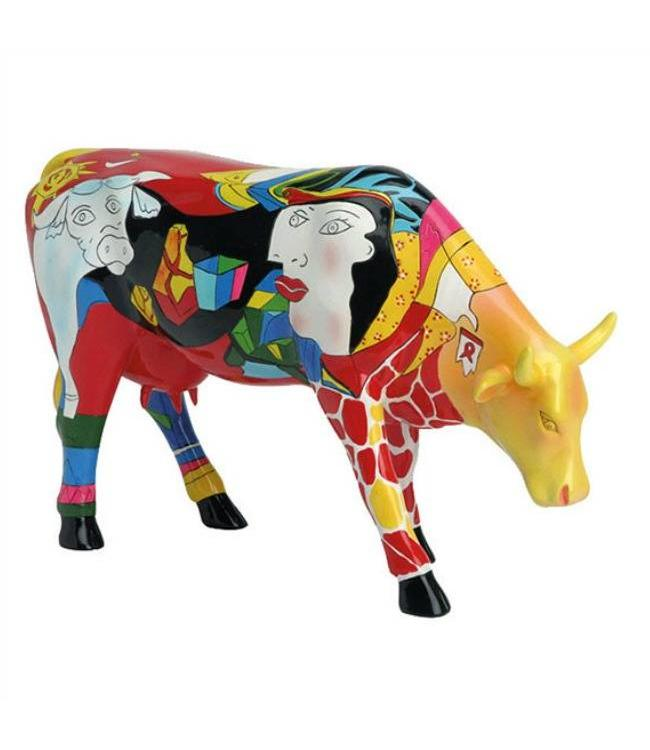 Cow Parade Homage to Picowso's African Period (large)
