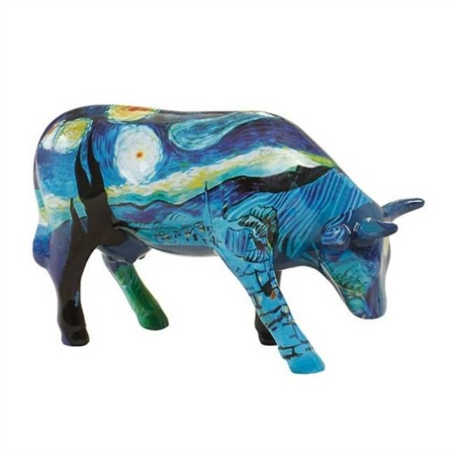 Cow Parade Vincent apos s Cow (medium ceramic)