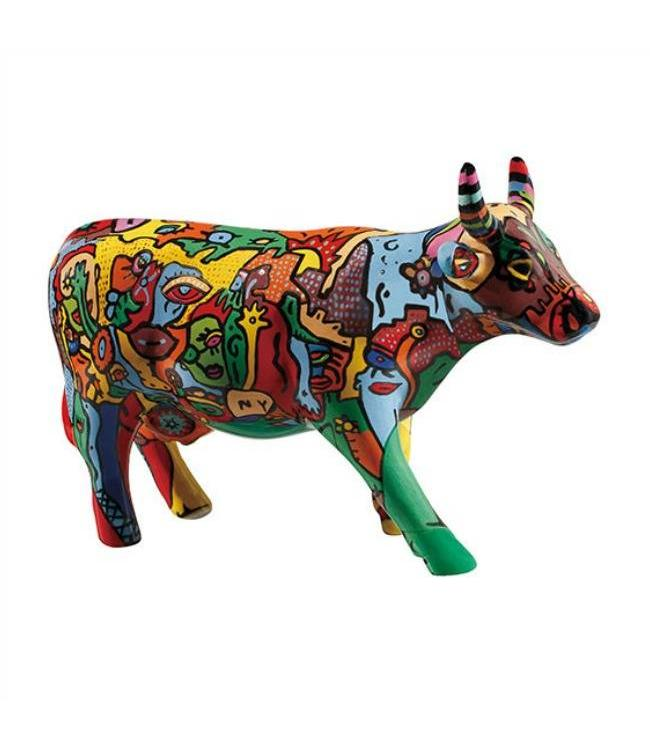 CowParade Cow Parade Moo York Celebration (medium ceramic)