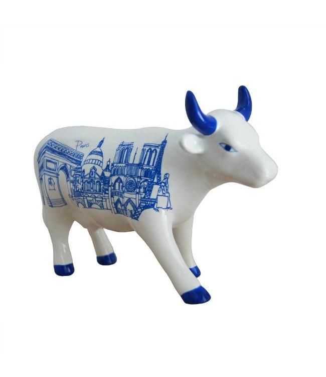 Cow Parade Paris Cow (medium ceramic)