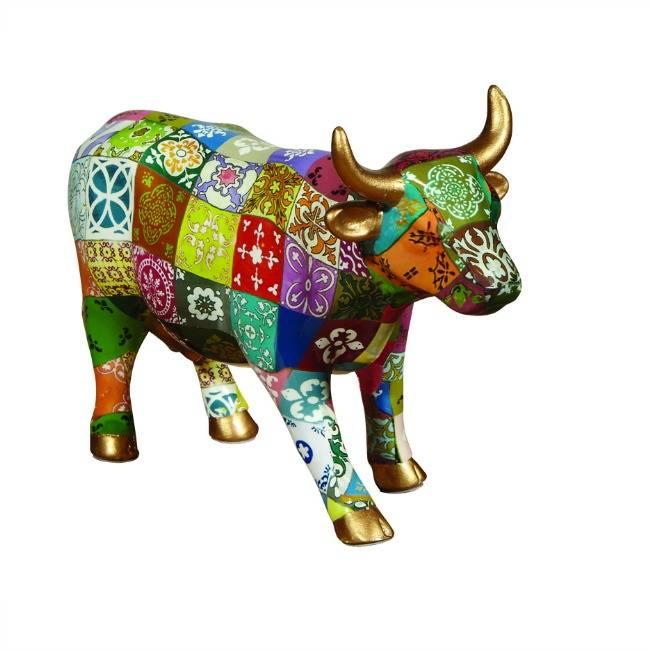 Cow Parade Princess Leticia (medium ceramic)