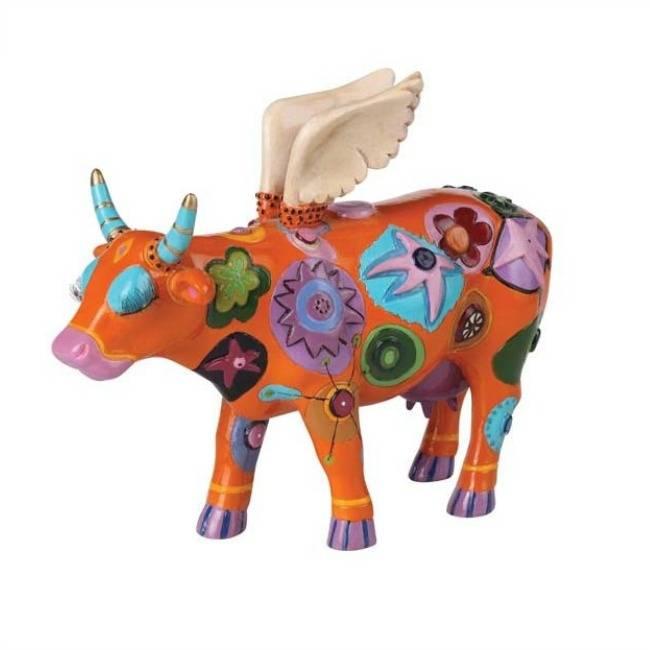 Cow Parade Angelicow (medium)