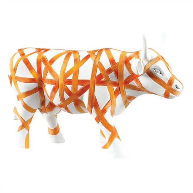 Cow Parade Vaca con Cinta (medium)