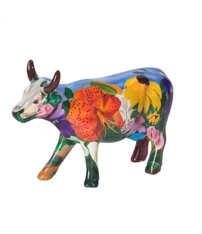 Cow Parade Georgia O'Kowffe (medium ceramic)