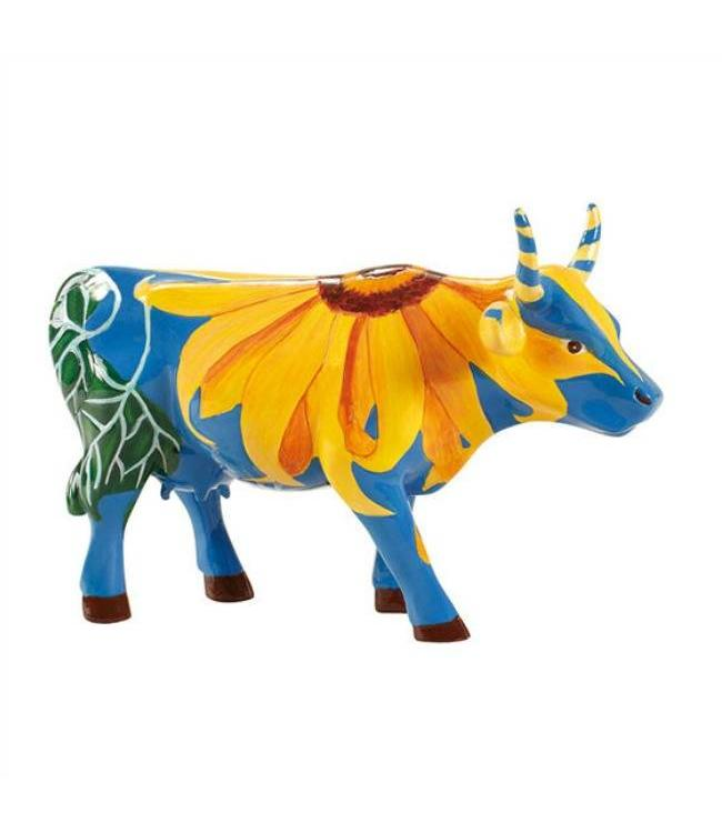 Cow Parade Udderly Sunflowers (medium)