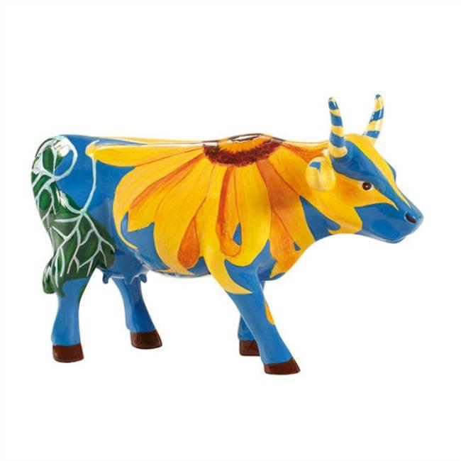 Cow Parade Udderly Sunflowers (medium)