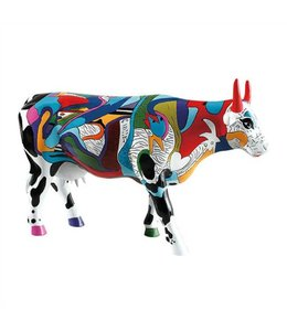 CowParade Cow Parade Ziv's Udderly Cool Cow (large)