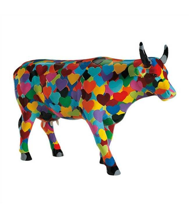 CowParade Cow Parade Heartstanding Cow (large)