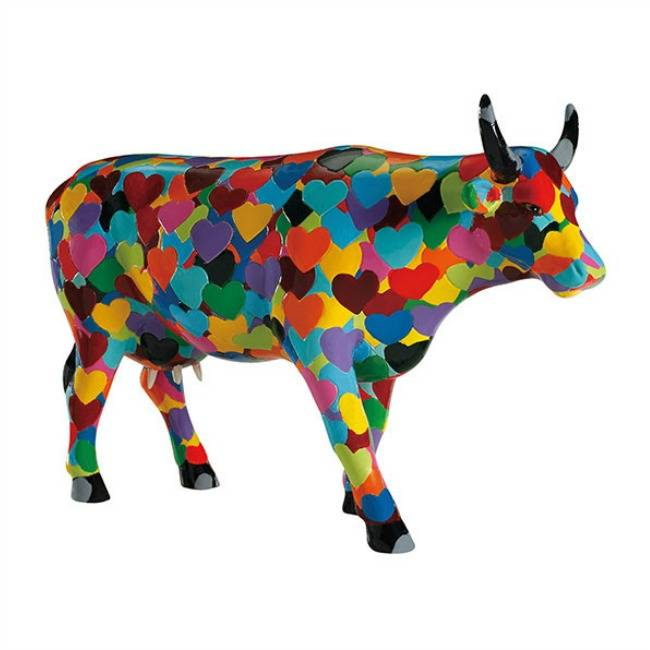 Cow Parade Heartstanding Cow (large)