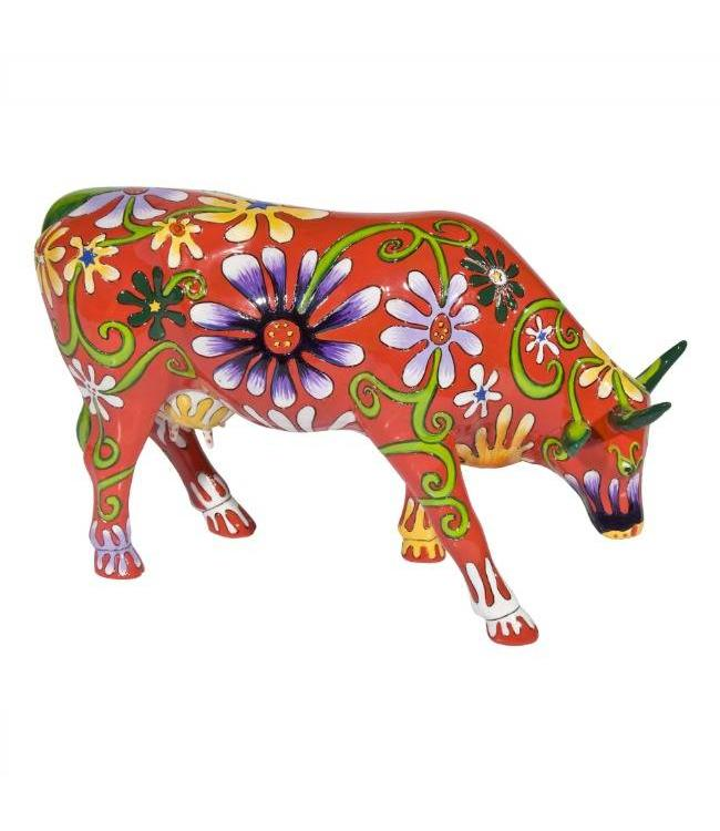 CowParade Cow Parade Flower Lover Cow (large)