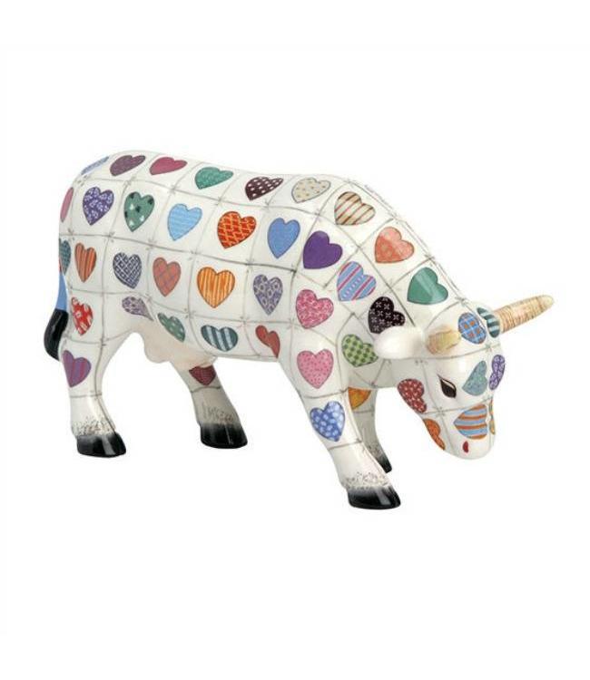 Cow Parade Cali Cow (medium ceramic)