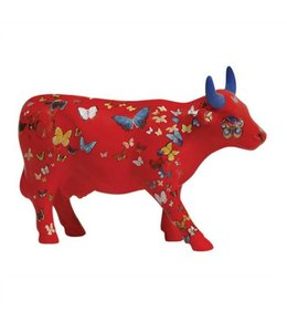 CowParade Cow Parade Klaricious/ Butterfly (medium ceramic)