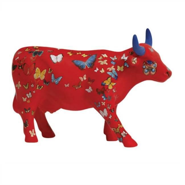 Cow Parade Klaricious/ Butterfly (medium ceramic)