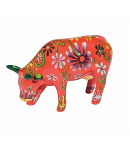 CowParade Cow Parade Flower Lover Cow (medium ceramic)