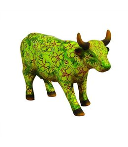 CowParade Cow Parade Flora (medium ceramic)