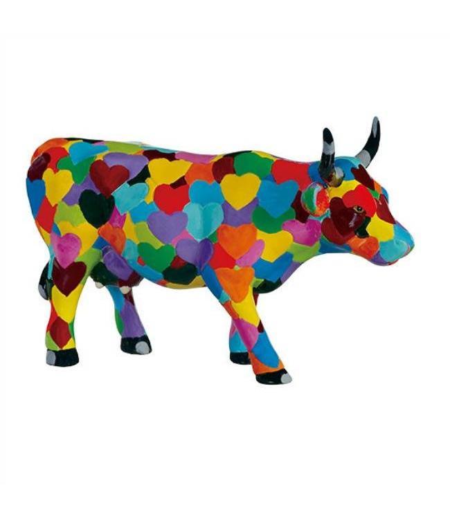 CowParade Cow Parade Heartstanding Cow (medium)