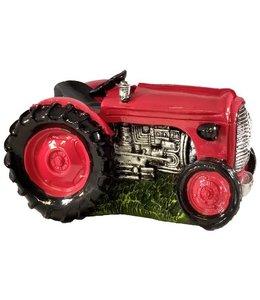 Spaarpot  Tractor - rood
