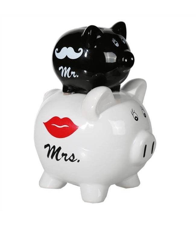 Spaarpot  Mr & Mrs