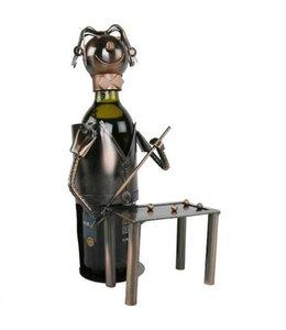 Wijnfleshouder Biljart