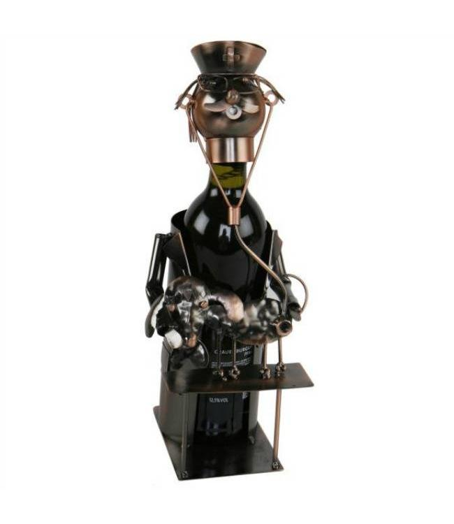 Wijnfleshouder Dierenarts