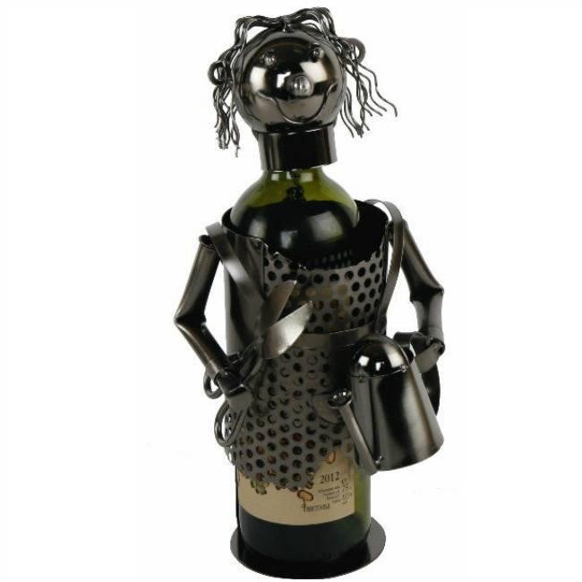 Wijnfleshouder Tuinvrouw
