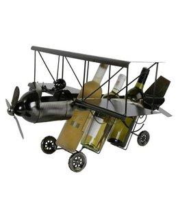 Wijnfleshouder Vliegtuig XXL