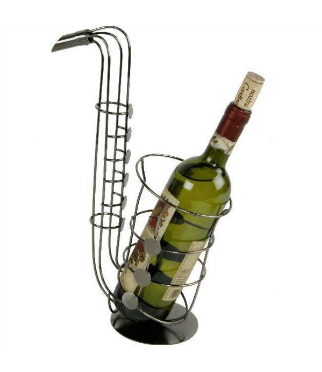 Wijnfleshouder Saxofoon