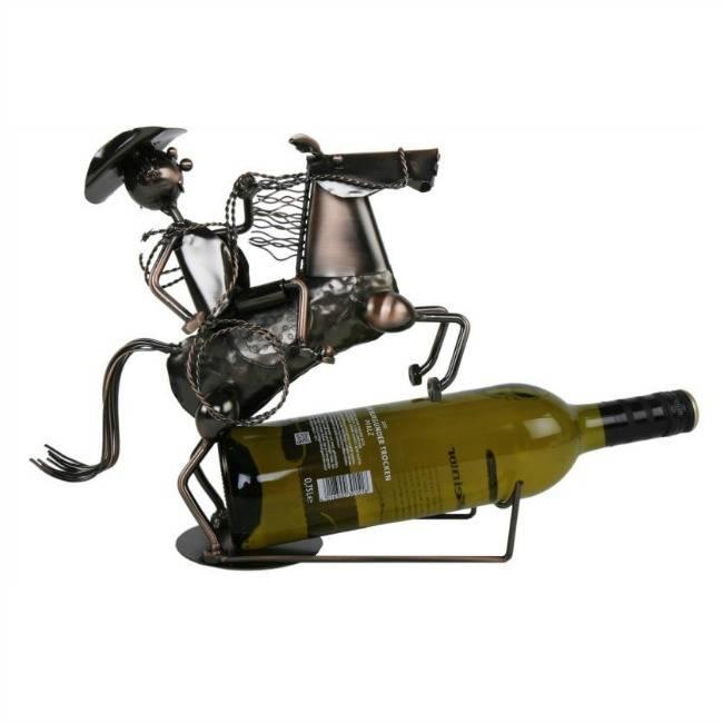 Wijnfleshouder Cowboy