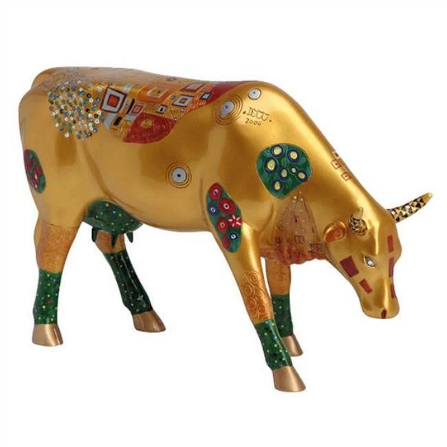 Cow Parade Klimt Cow (large)