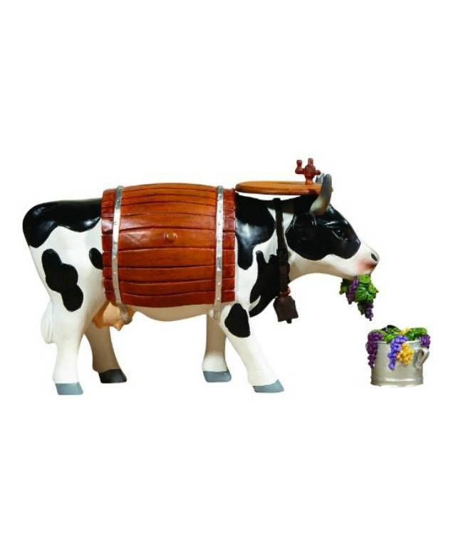 CowParade Cow Parade Clarabelle the Wine Cow (medium)