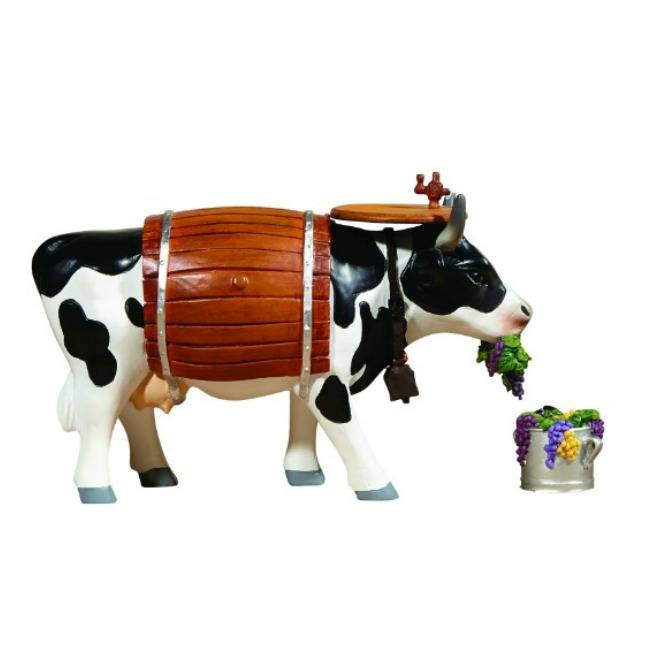 Cow Parade Clarabelle the Wine Cow (medium)