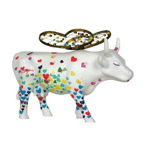 Cow Parade Wings of Love (medium)
