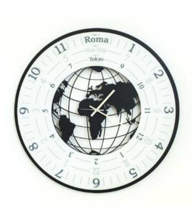 Arti & Mestieri Wandklok World Clock